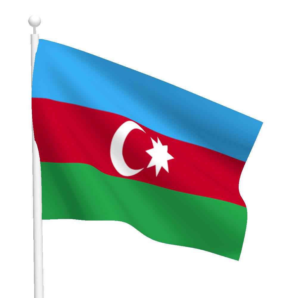 Azerbaijan Flag Colors