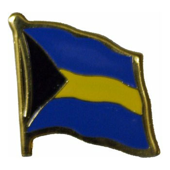 Bahamas Flag Lapel Pin