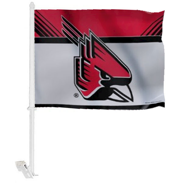 Ball State University Car Window Flag