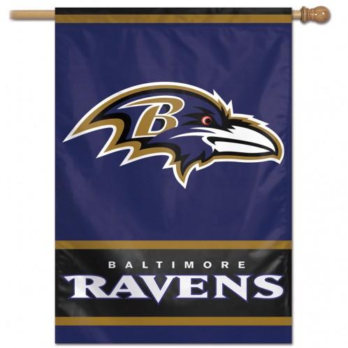 Baltimore Ravens Vertical Flag