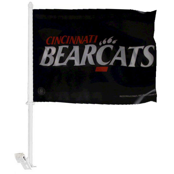 University of Cincinnati Car Window Flag