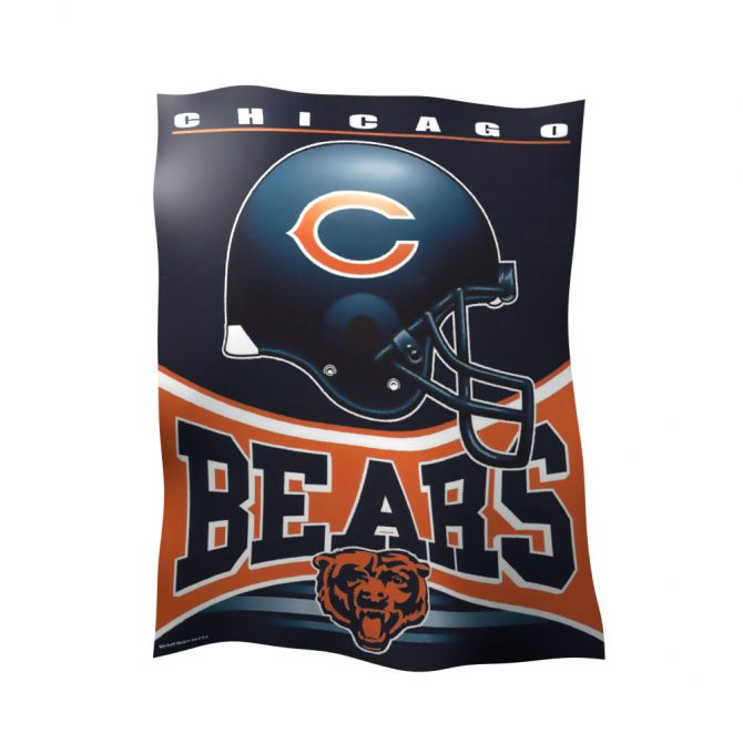 Chicago Bears Polyester Vertical Flag