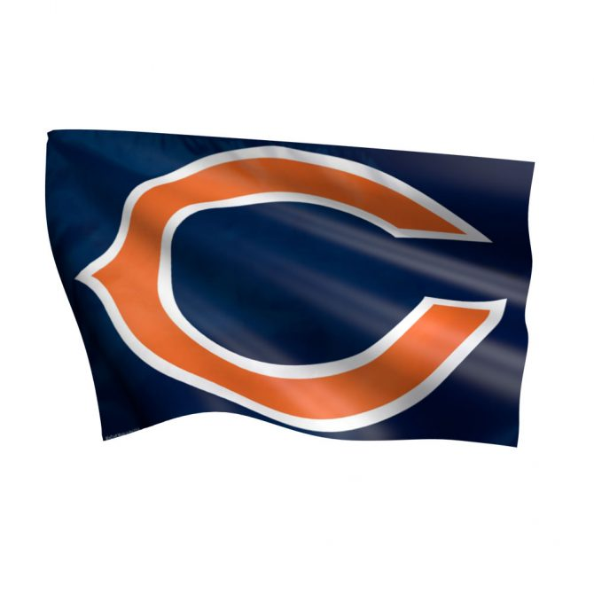Chicago Bears C Logo Flag
