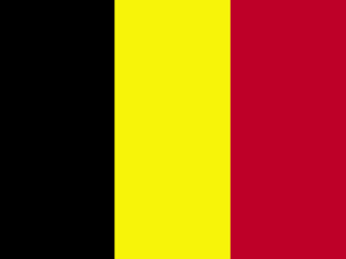 Belgium Flag With Staff And Spear Flags International