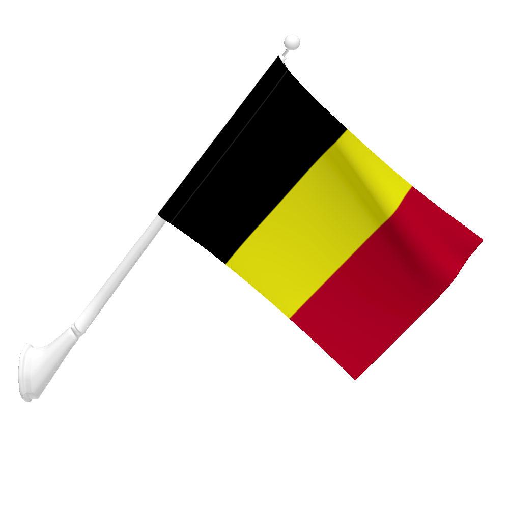 Belgium Flag Heavy Duty Nylon Flag Flags International