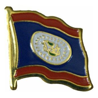 Belize Flag Lapel Pin