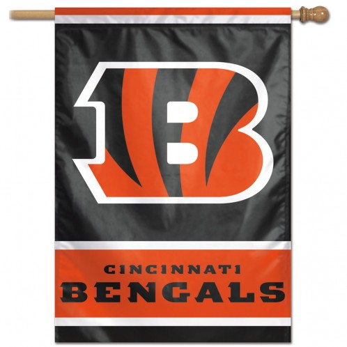 Cincinnati Bengals Polyester 2 Sided Banner
