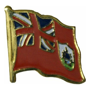 Bermuda Flag Lapel Pin