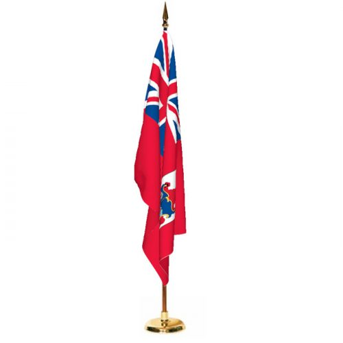 Indoor Bermuda Ceremonial Flag Set
