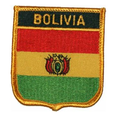 Flag of Bolivia Patch