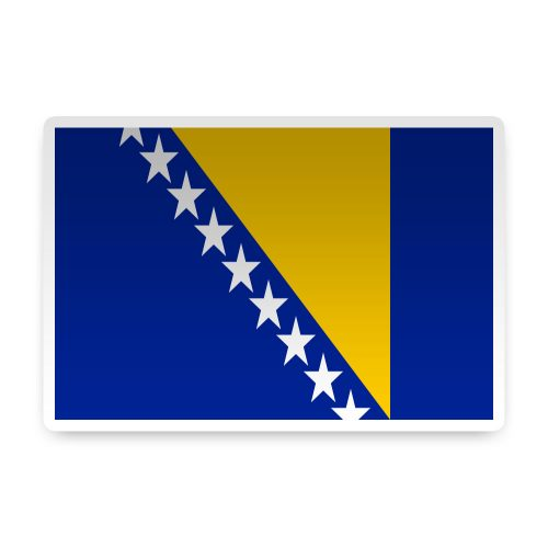 Bosnia-Herzegovina Sticker