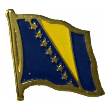 Bosnia-Herzegovina Flag Lapel Pin