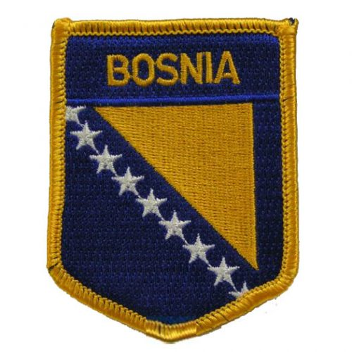 Flag of Bosnia-Herzegovina Patch