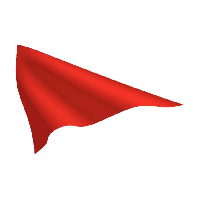 Bright Red Pennant
