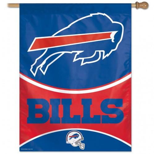Buffalo Bills Vertical Flag