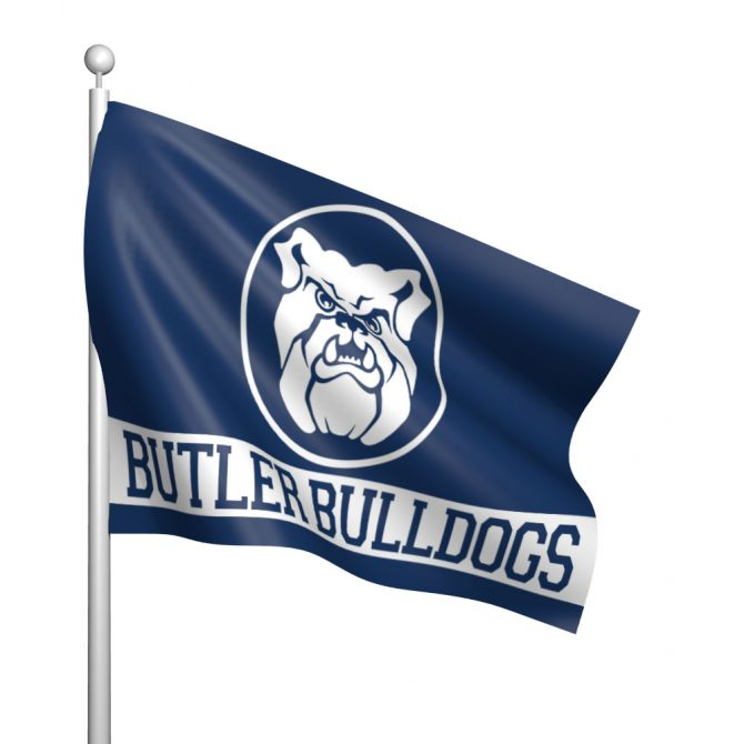 3'x5' Butler University Flag