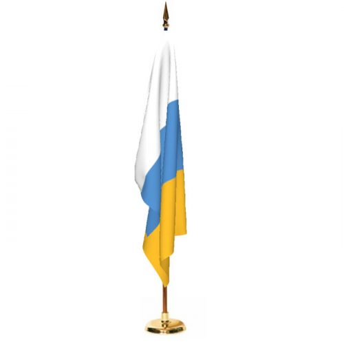 Indoor Canary Islands Ceremonial Flag Set