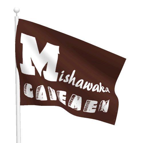 Mishawaka Cavemen Flag