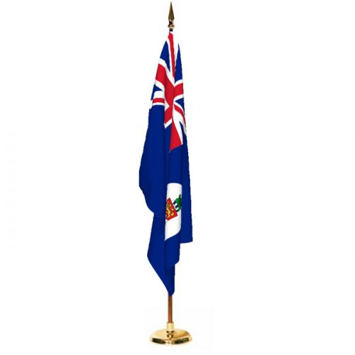 Indoor Cayman Islands Ceremonial Flag Set