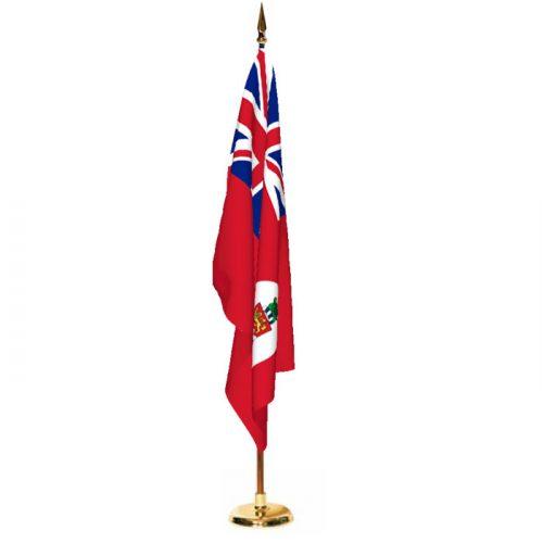 Indoor Cayman Islands Civil Ensign Ceremonial Flag Set