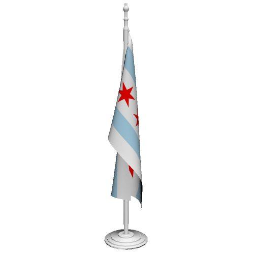 Indoor Municipal Flags