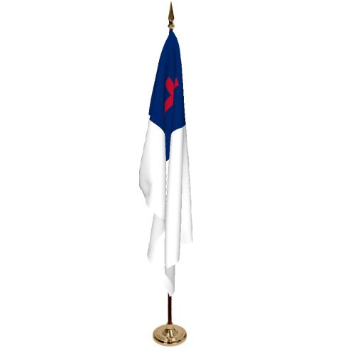 Indoor Christian Ceremonial Flag Set