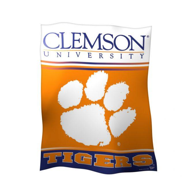 Clemson University Polyester Banner