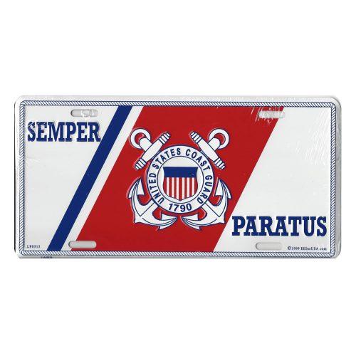 United States Coast Guard License Plate