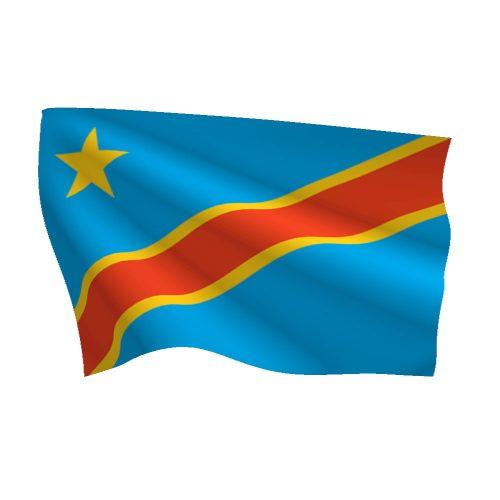 Congo Democratic Republic Flag