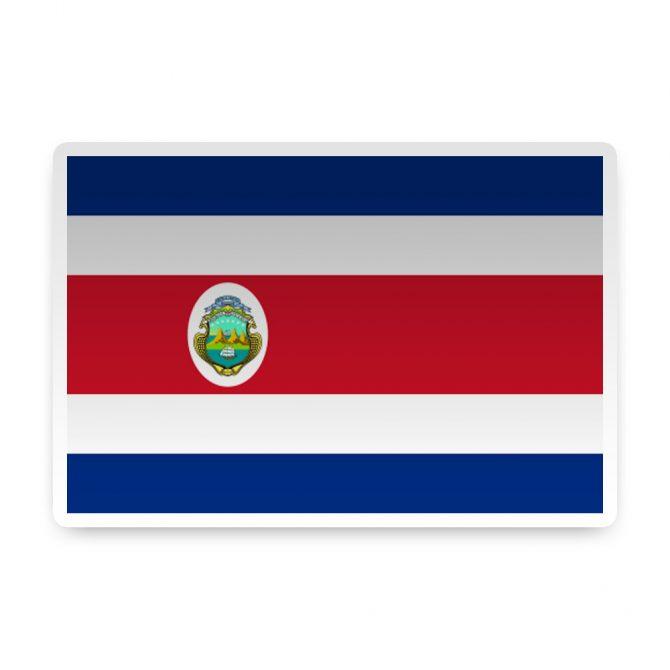 Costa Rica Sticker