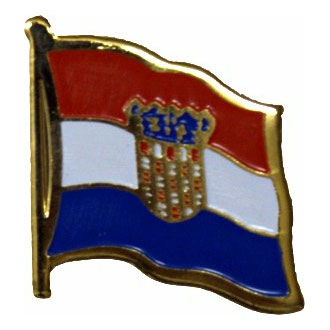 Croatia Flag Lapel Pin