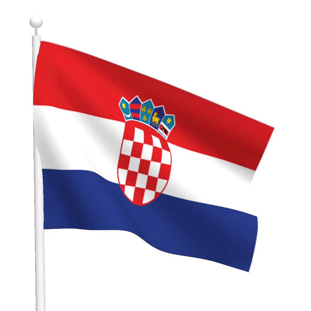 Croatia Flag Heavy Duty Nylon Flag Flags International