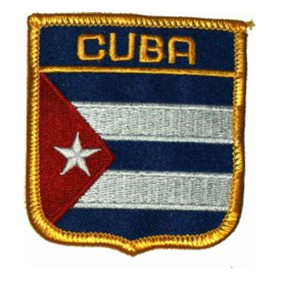 Flag of Cuba Patch