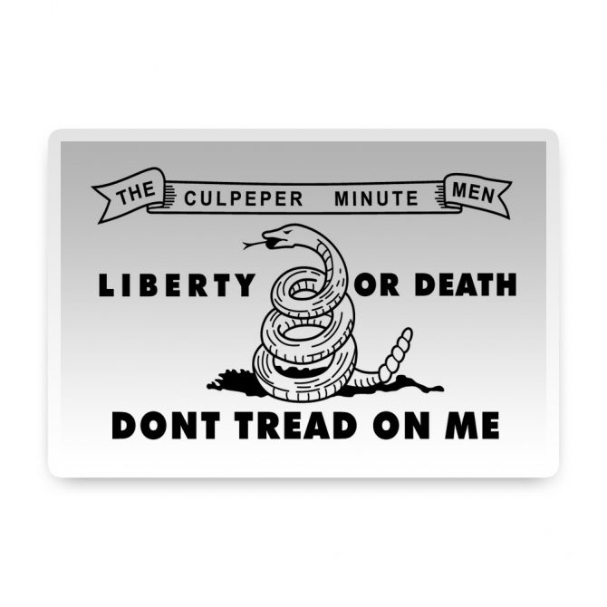 Culpeper Sticker