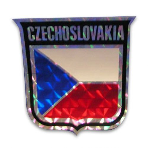 Vinyl Metallic Czechoslovakia Decal