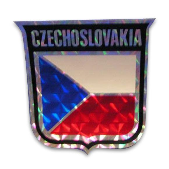 Vinyl Metallic Czechoslovakia Decal