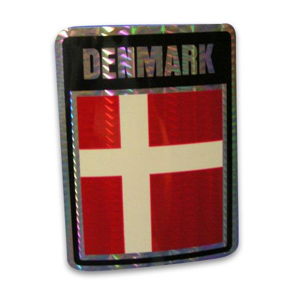 Vinyl Metallic Denmark Decal