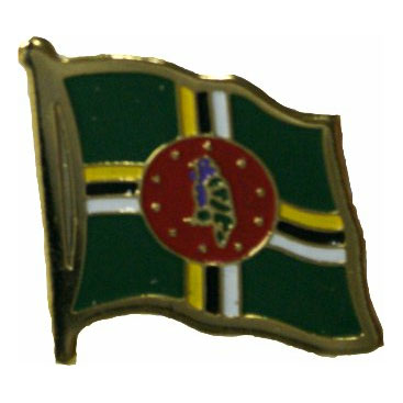 Dominica Flag Lapel Pin