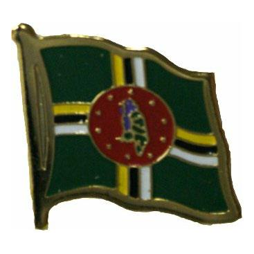 Dominica Flag Lapel Pin