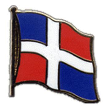 Dominican Republic Flag Lapel Pin