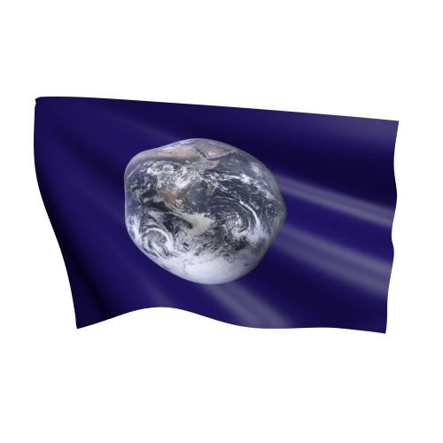 Earth Flag Nylon