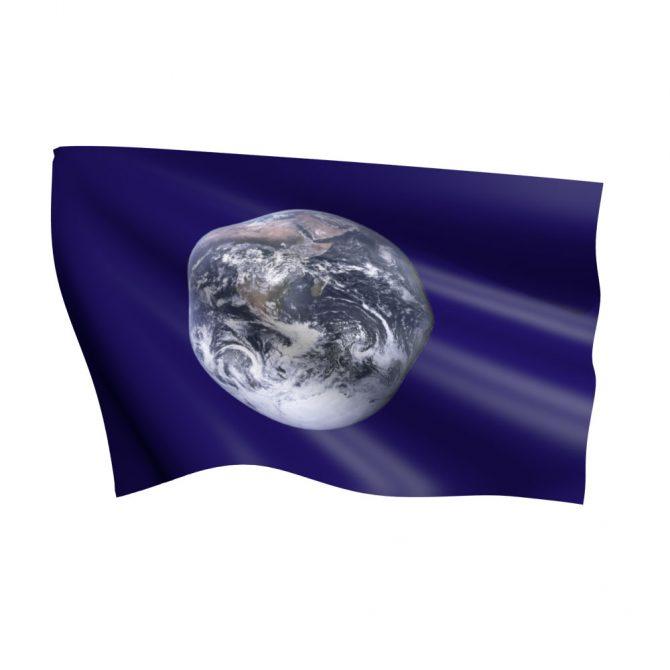 Earth Flag Nylon