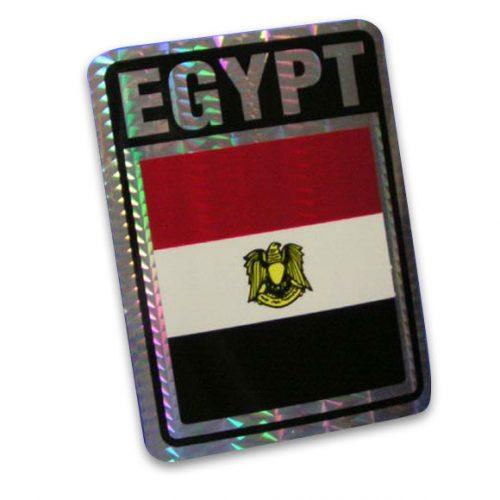 Vinyl Metallic Egypt Decal