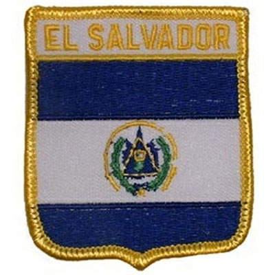 Flag of El Salvador Patch