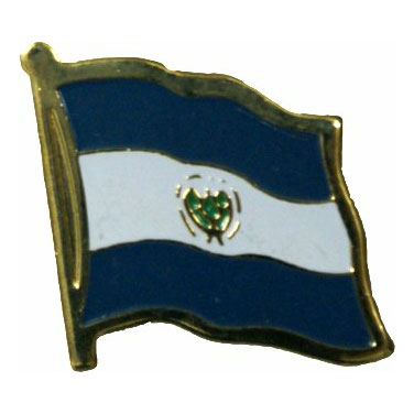 El Salvador Flag Lapel Pin