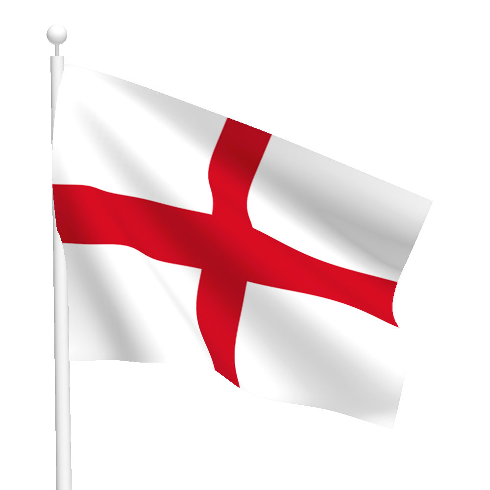 Polyester England Flag Light Duty Flags International
