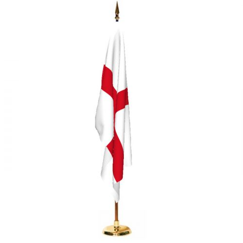 Indoor England Ceremonial Flag Set
