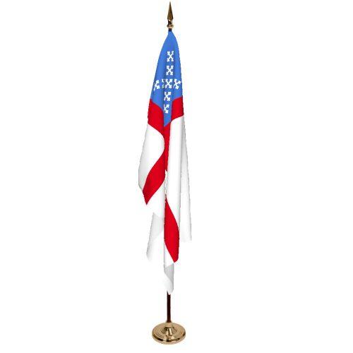 Indoor Episcopal Ceremonial Flag Set