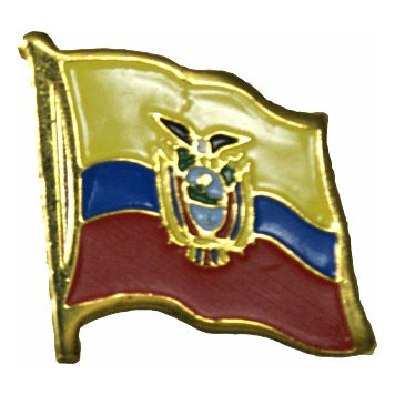 Ecuador Flag Lapel Pin