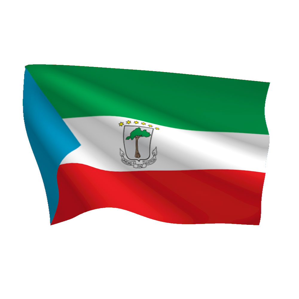 Equatorial Guinea Flag Heavy Duty Nylon Flag